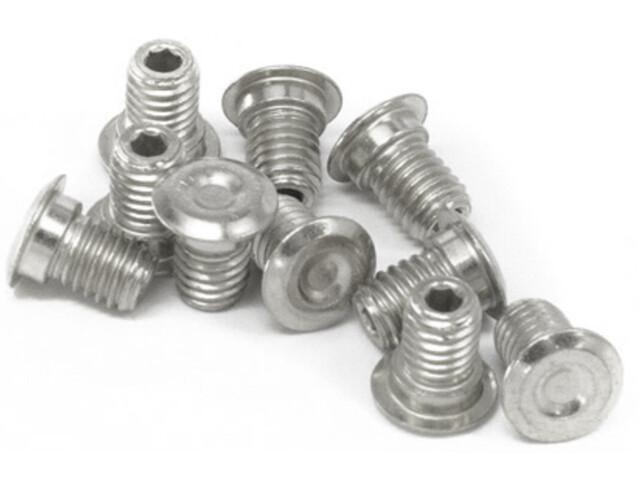 e*thirteen Plus Pedaalpinnen Kit voor Vlakke Pedalen, silver